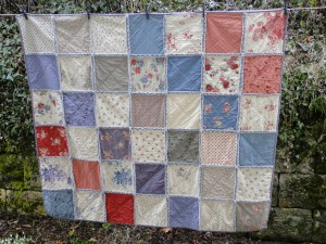 Emer's rag quilt