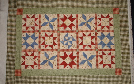 Back in Time to My First Quilt
