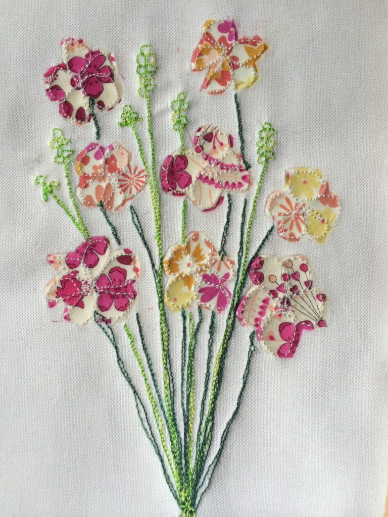 Stitched Floral Cards - A Tutorial   Mud, Pies and Pins