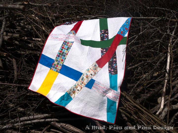 """""""Insert Retro""""   Quilt by Mud, Pies and Pins"""