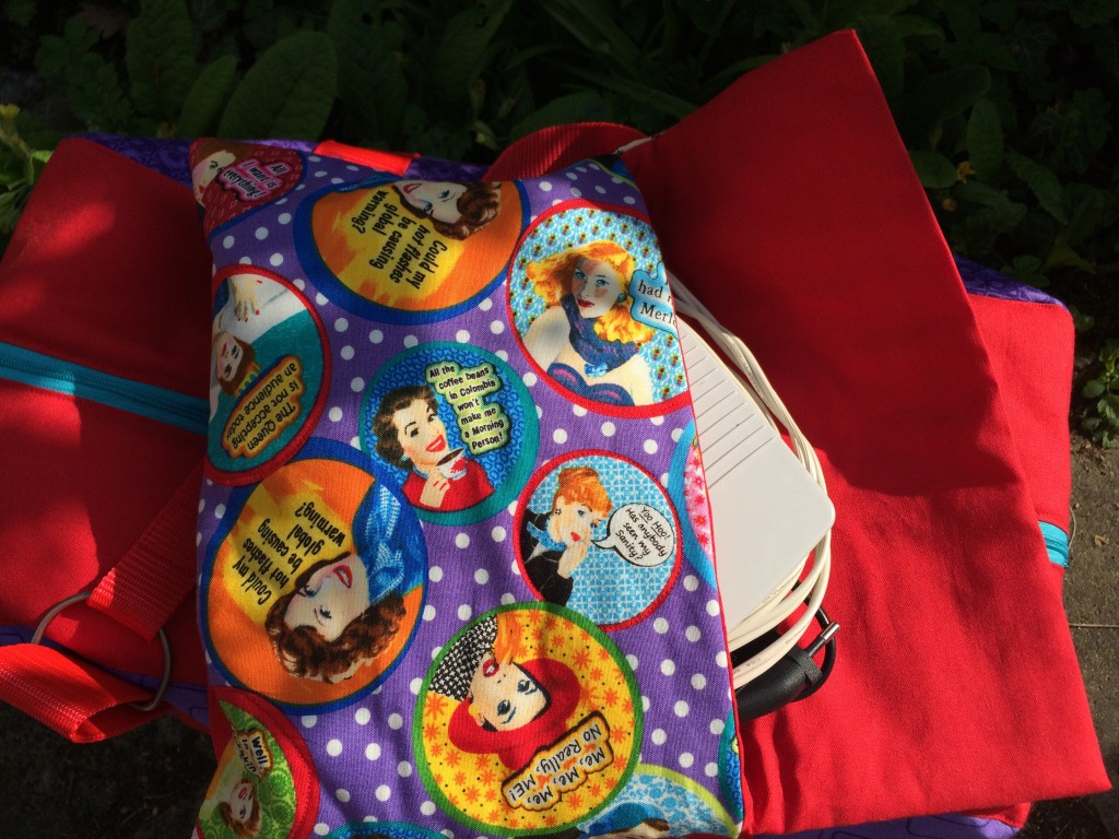 Sewing machine bag | Mud, Pies and Pins