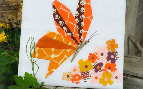 Butterfly and Blooms - Umbrella Prints Trimmings Competition 2014