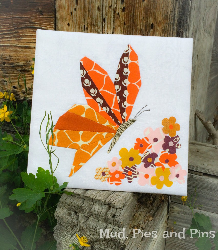 Butterfly and blooms |Mud, Pies and Pins