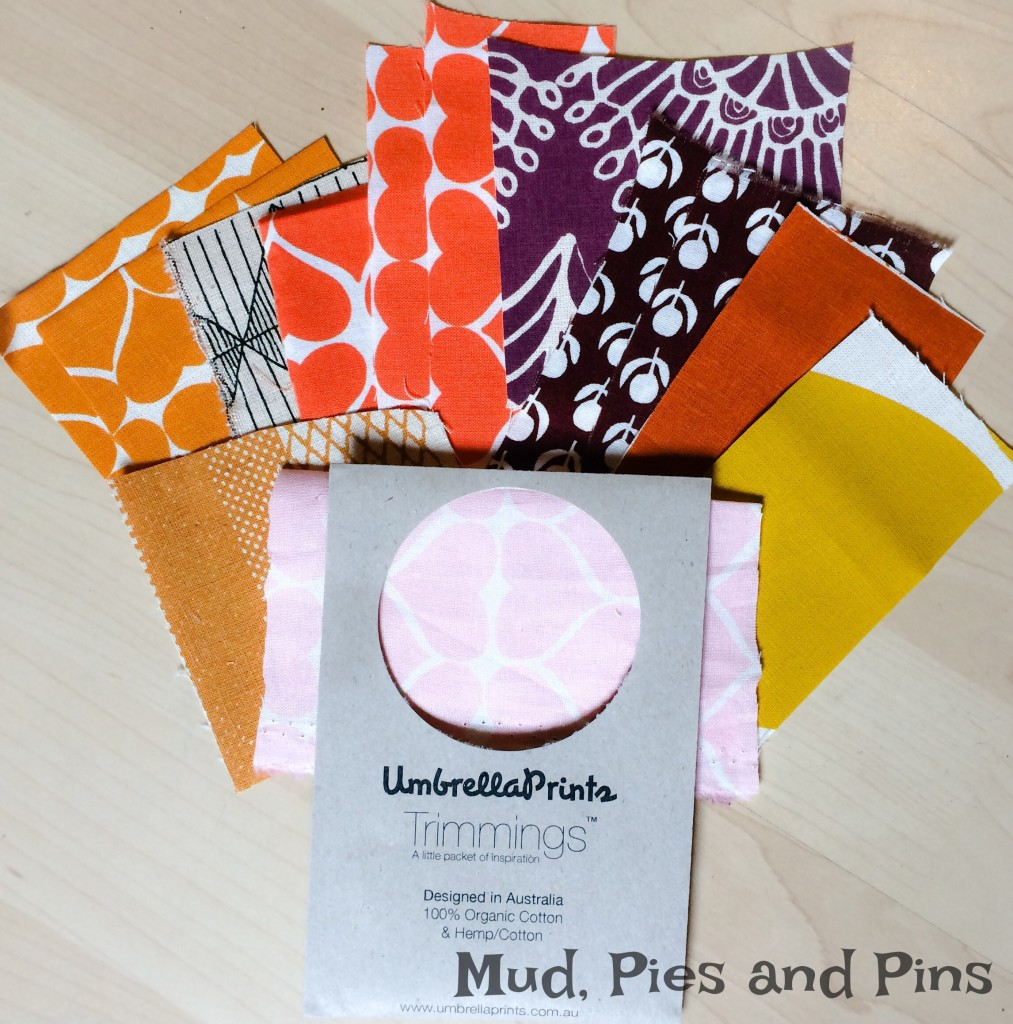 Umbrella Prints Trimmings Pack