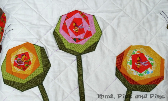 Fluttering, an EPP Butterfly Quilt | Mud, Pies and Pins
