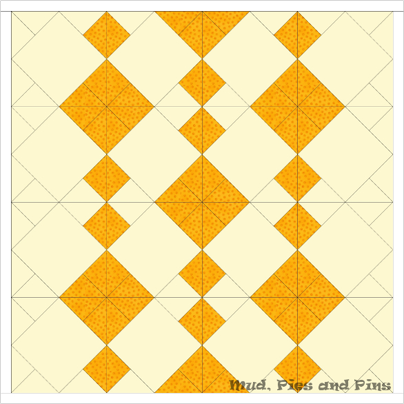 EQ7 Diamond Quilt Design | Mud, Pies and Pins