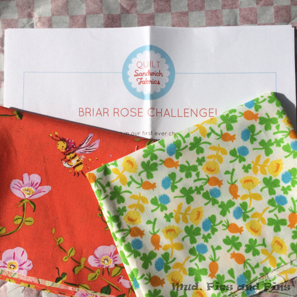 Briar Rose Challenge Fabrics | Mud, Pies and Pins