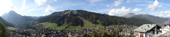Peaks 6 Retreat - View from Les 4 Vents, Morzine, France