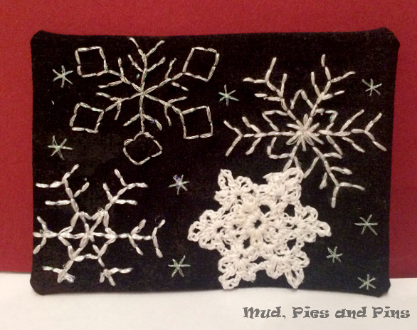 """Snowflakes"" Fabric ATC 