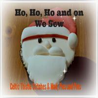 Ho, Ho, Ho and On We Sew - June
