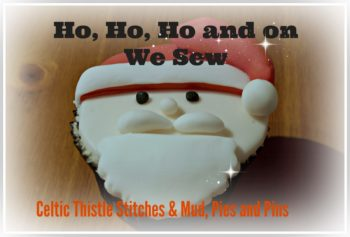 Ho Ho Ho button photo | Mud, Pies and Pins