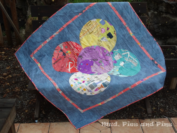 Painted Harmony Quilt | Mud, Pies and Pins