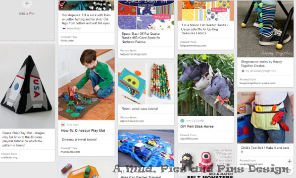 Sewing with boys Pinterest board | Mud, Pies and Pins
