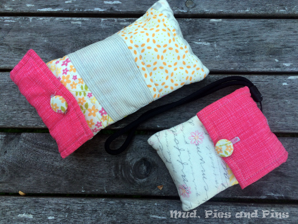 Clutch pouch tutorial | Mud, Pies and Pins