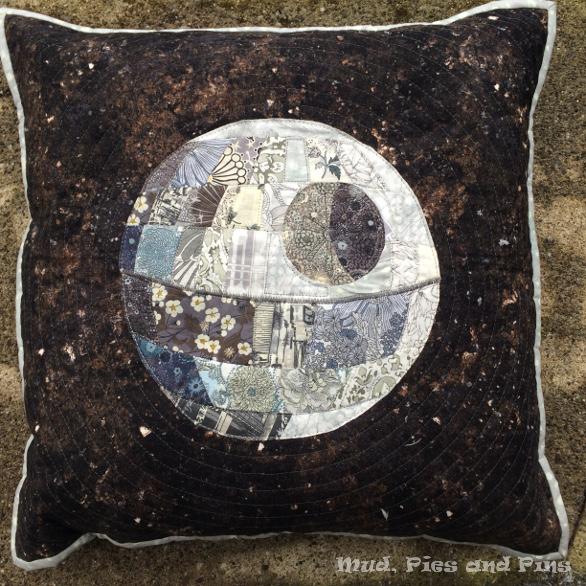 Liberty Death Star Pillow | Mud, Pies and Pins