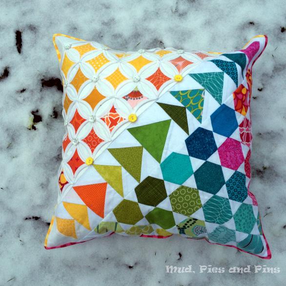Spring pillow snow