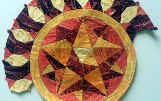 Mosiac Marquetry - My Artisan Spirit Sandscapes Challenge Quilt