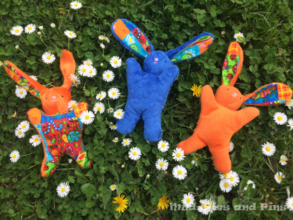 Easter bunny soft toys | Mud, Pies and Pins