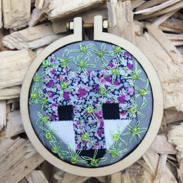 """hide and Seek"" mini hoop 