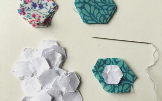 Micro EPP - How to Sew Tiny Pieces