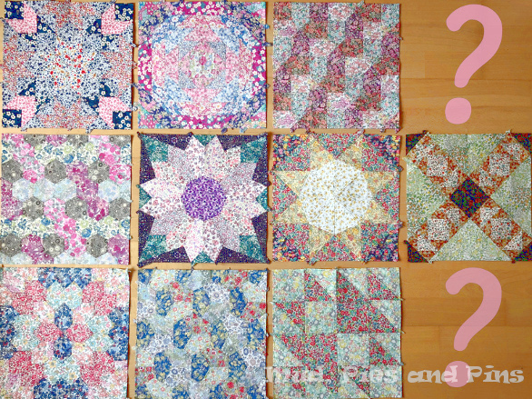 #EPPparty quilt blocks | Mud, Pies and Pins
