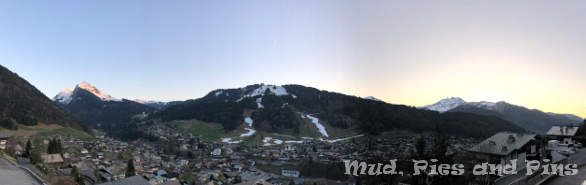 Morzine in the French Alps | Mud, Pies and Pins