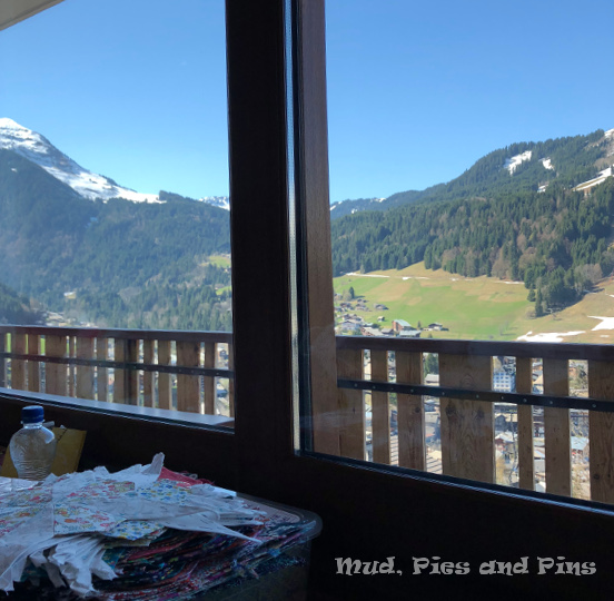 View from the sewing room - Chalet les 4 Vents, Morzine | Mud, Pies and Pins
