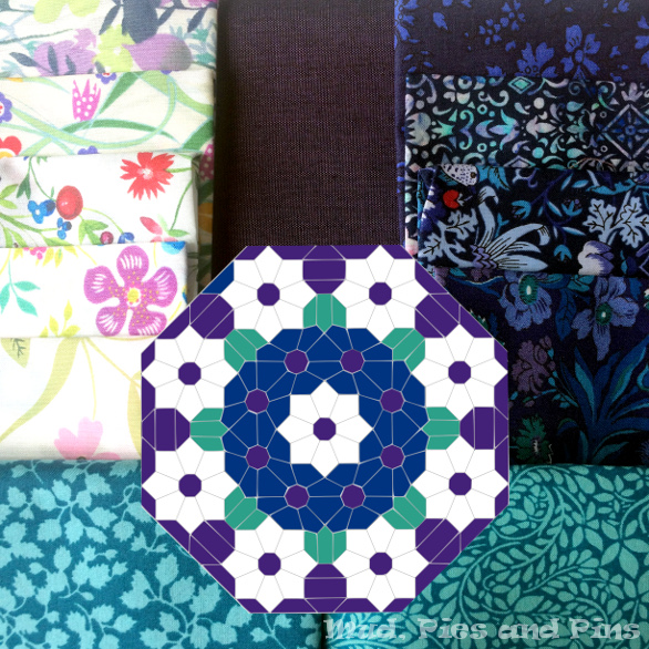 EPP cushion design and fabric pull | Mud, Pies and Pins