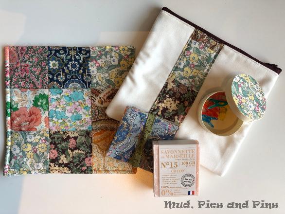 Secret sister gifts, Peaks 13| Mud, Pies and Pins