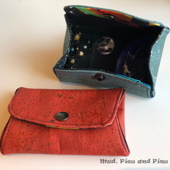 Snappy pouches made at Peaks 13| Mud, Pies and Pins