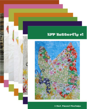 Mud, Pies and Pins EPP Butterfly pattern bundle