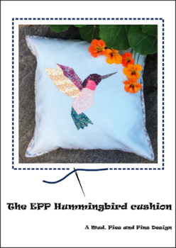 EPP Hummingbird cushion pattern | Mud, Pies and Pins
