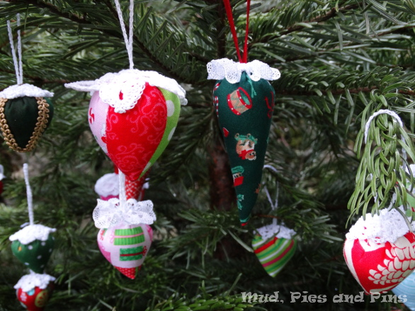 Handmade Christmas ornaments | Mud, Pies and Pins