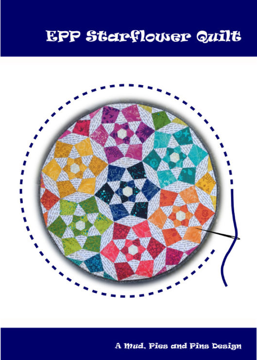 Starflower Mini Quilt Pattern | Mud, Pies and Pins