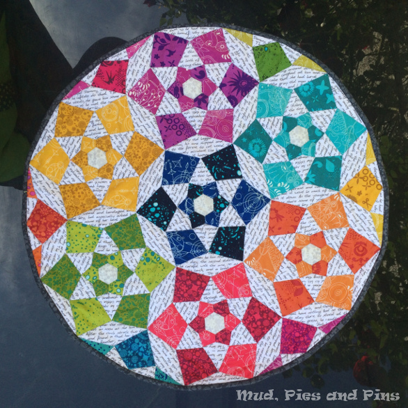 Starflower Mini Quilt | Mud, Pies and Pins