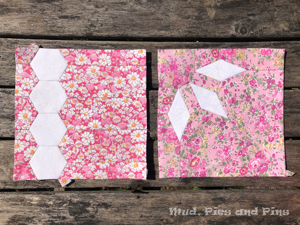 The Countdown Quilt Blocks 3 & 4
