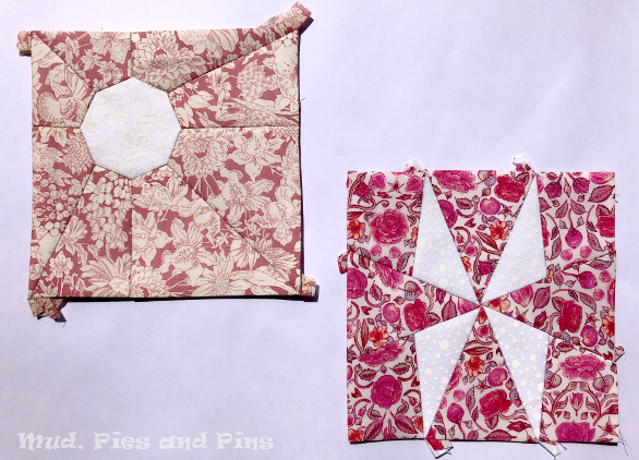 Coundown Quilt Blocks 5 and 6 | Mud, Pies and Pins
