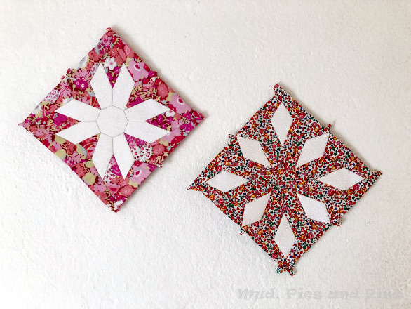 The Countdown Quilt Blocks 1 and 2