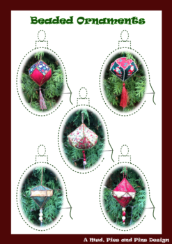 Beaded Ornaments Pattern | Mud, Pies and Pins