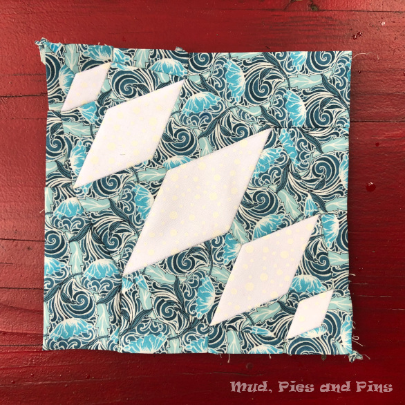 The Countdown Quilt Block 12 | Mud, Pies and Pins