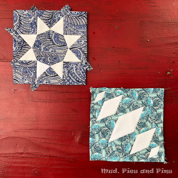 The Countdown Quilt Blocks 11 and 12 | Mud, Pies and Pins
