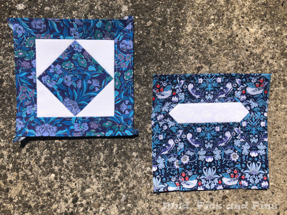 Countdown Quilt Blocks 19 and 20 | Mud, Pies and Pins