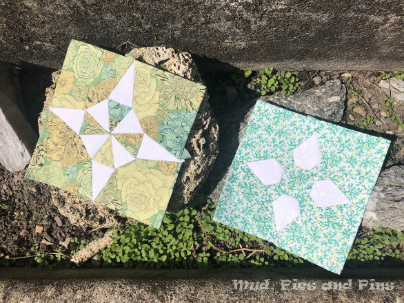 The Countdown Quilt Blocks 27 and 28 | Mud, Pies and Pins