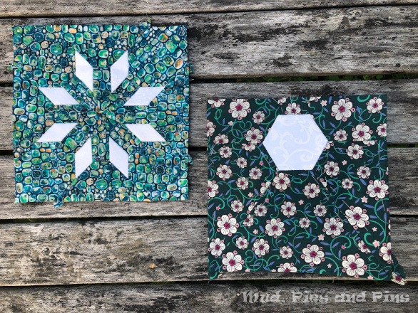 The Countdown Quilt Blocks 29 and 30 | Mud, Pies and Pins