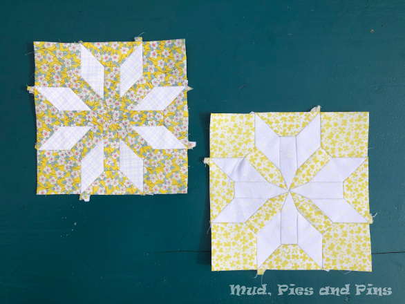 The Count Quilt Yellow Blocks | Mud, Pies and Pins