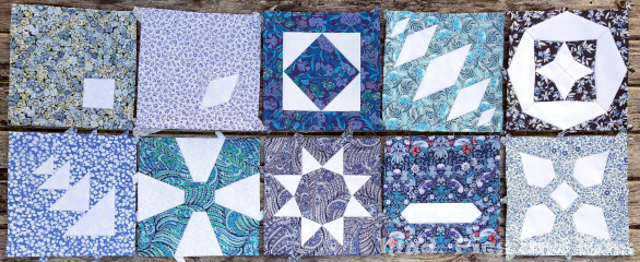 The Countdown Quilt Blocks 11-20 | Mud, Pies and Pins