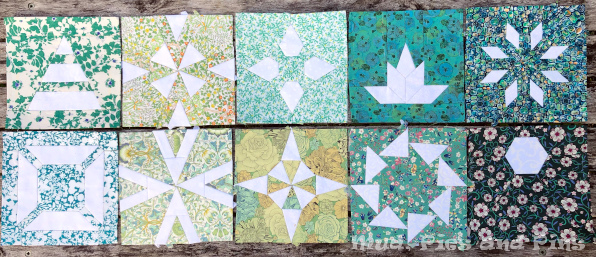 Countdown Quilt Blocks 21-30 | Mud, Pies and Pins