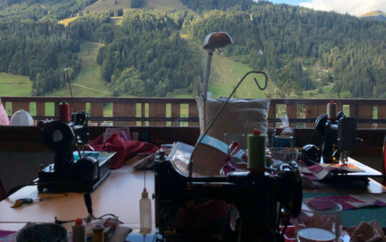 Patchwork in the Peaks - The Quilt Retreat in the French Alps