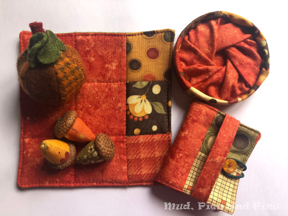 Autumnal sewing set | Mud, Pies and Pins
