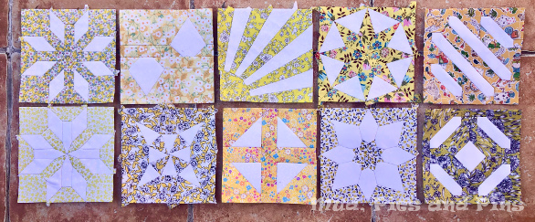 Countdown Quilt Blocks 31-40 | Mud, Pies and Pins